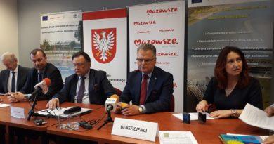Ponad 5,6 mln zł z PROW na wodociągi i kanalizację w subregionie płockim