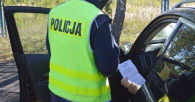 Grupa SPEED w natarciu, kierowca bez prawa jazdy