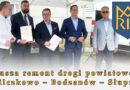 Rusza remont drogi powiatowej Wilczkowo – Bodzanów – Słupno