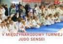 V Międzynarodowy Turniej Judo Sensei